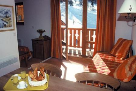 Location au ski Appartement 2 pièces 4 personnes - Residence Le Rond Point Des Pistes - Saint-François Longchamp - Séjour