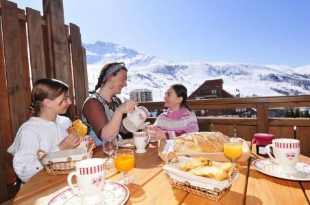 Location au ski Résidence les 4 Vallées - Saint-François Longchamp - Extérieur hiver