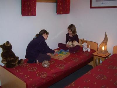 Location au ski Appartement 2 pièces 4 personnes - Residence Les 4 Vallees - Saint-François Longchamp - Chambre