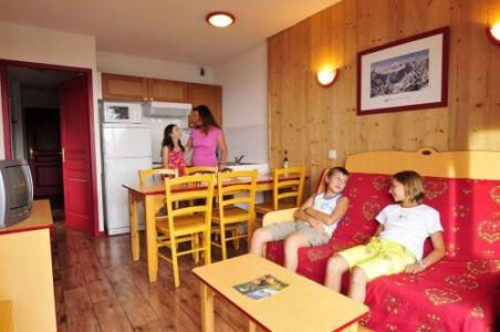 Location au ski Appartement 3 pièces 6 personnes - Residence Les 4 Vallees - Saint-François Longchamp - Clic-clac