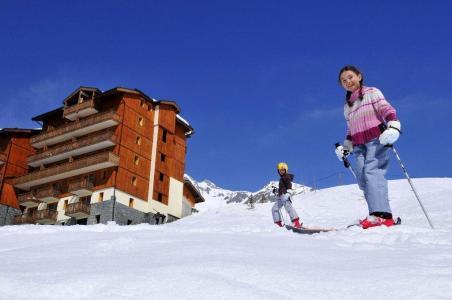 Location au ski Residence Les 4 Vallees - Saint-François Longchamp - Extérieur hiver