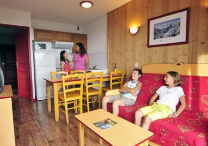 Location au ski Residence Les 4 Vallees - Saint-François Longchamp - Coin séjour