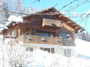 Location au ski Chalet triplex 6 pièces 8 personnes - Chalet Marie Paradis - Saint Gervais - Extérieur hiver