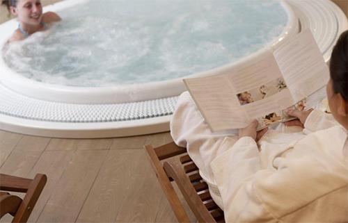 Location au ski Hotel Club Mmv Monte Bianco - Saint Gervais - Bain à remous