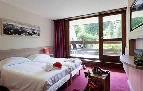 Location au ski Hotel Club Mmv Monte Bianco - Saint Gervais - Chambre