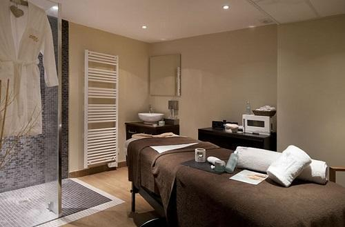 Location au ski Hotel Club Mmv Monte Bianco - Saint Gervais - Massage