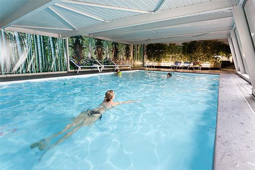 Location au ski Hotel Club Mmv Monte Bianco - Saint Gervais - Piscine