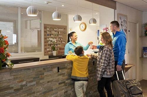 Location au ski Hotel Club Mmv Monte Bianco - Saint Gervais - Réception