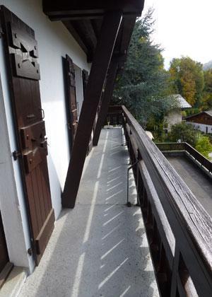 Location au ski Appartement 3 pièces 6 personnes (L'ENSOLEILLE 78) - Residence L'ensoleille - Saint Gervais - Balcon