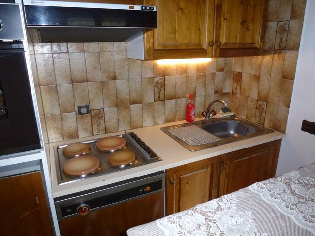 Location au ski Appartement 3 pièces 6 personnes (L'ENSOLEILLE 78) - Residence L'ensoleille - Saint Gervais - Plaques de cuisson