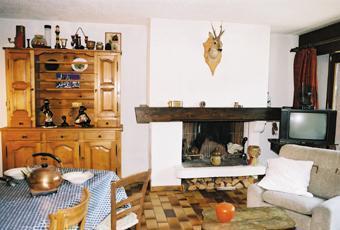 Location au ski Appartement 4 pièces 6 personnes (4) - Residence La Gelinotte - Saint Gervais - Cheminée