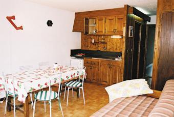Location au ski Appartement 4 pièces 6 personnes (4) - Residence La Gelinotte - Saint Gervais - Coin repas