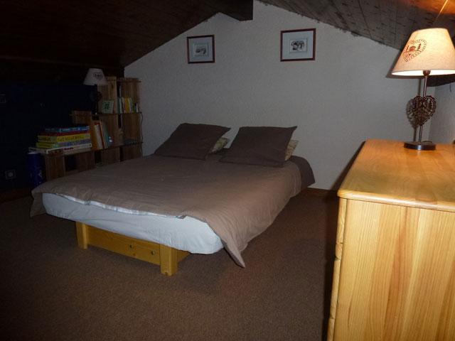 Location au ski Studio mezzanine 6 personnes (17) - Residence Le Taguy - Saint Gervais - Chambre