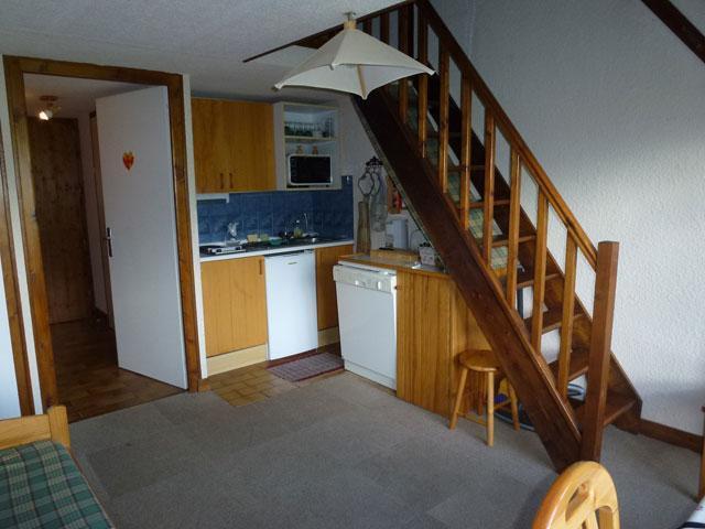 Location au ski Studio mezzanine 6 personnes (17) - Residence Le Taguy - Saint Gervais - Séjour