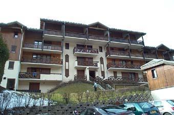 Location au ski Studio 2 personnes (71) - Residence Les Hauts De Saint Gervais - Saint Gervais - Extérieur hiver