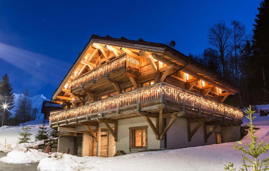 Location au ski Chalet Le Grey Fox - Saint Gervais - Extérieur hiver
