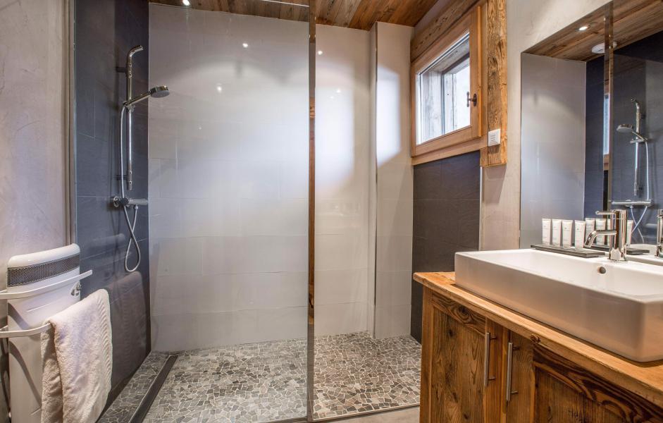 Location au ski Chalet Le Grey Fox - Saint Gervais - Salle de bains