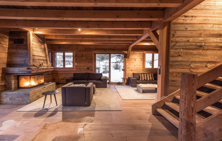 Location au ski Chalet Le Grey Fox - Saint Gervais - Séjour