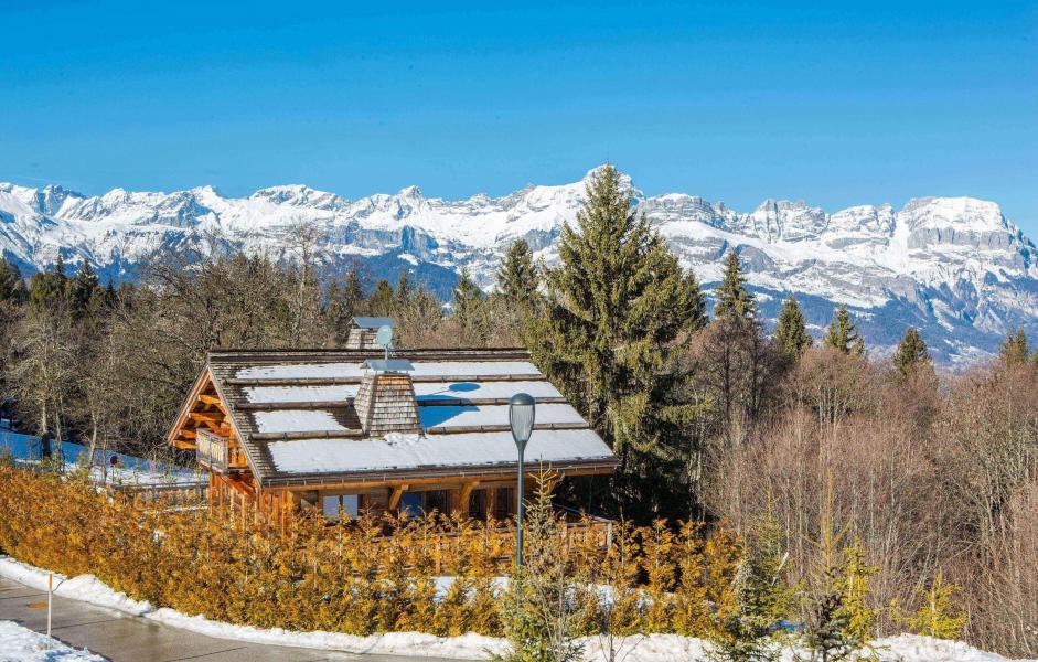 Location au ski Chalet Le Red Fox - Saint Gervais - Extérieur hiver