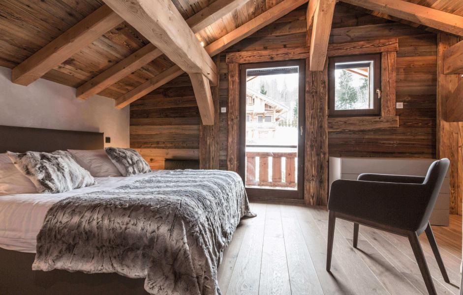 Location au ski Chalet Le Red Fox - Saint Gervais - Lit double