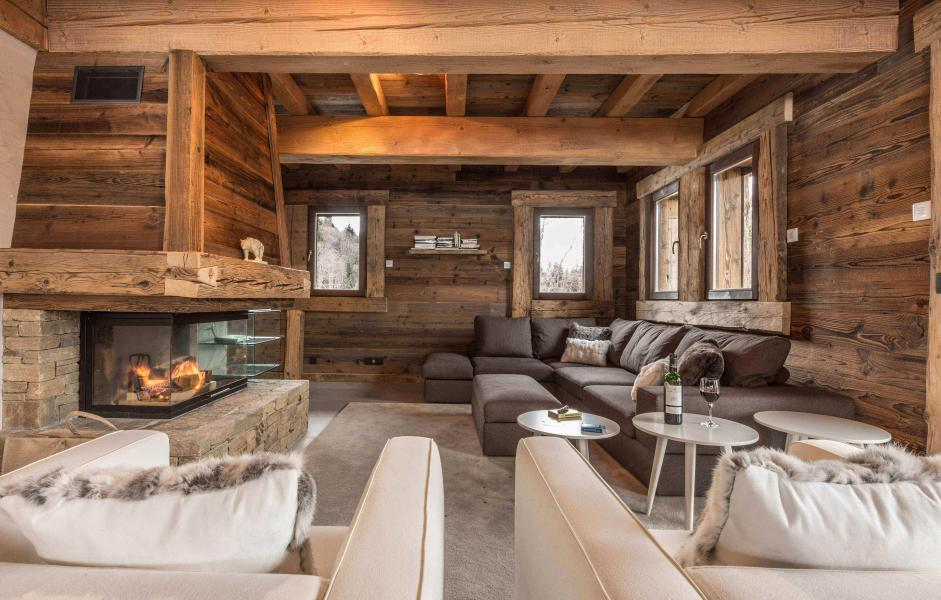 Location au ski Chalet Le Red Fox - Saint Gervais - Séjour