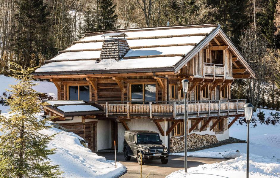 Location au ski Chalet Le Silver Fox - Saint Gervais - Extérieur hiver