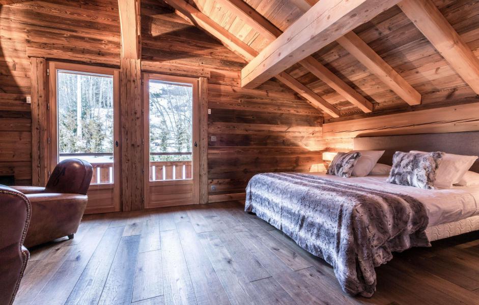Location au ski Chalet Le Silver Fox - Saint Gervais - Chambre