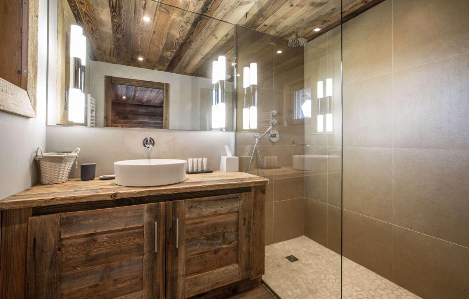 Location au ski Chalet Le Silver Fox - Saint Gervais - Salle de bains