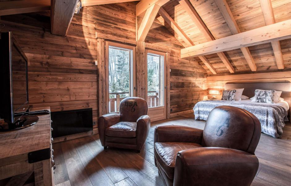 Location au ski Chalet Le Silver Fox - Saint Gervais - Séjour