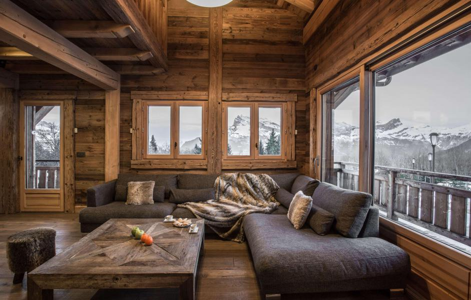 Location au ski Chalet Le Silver Fox - Saint Gervais - Table