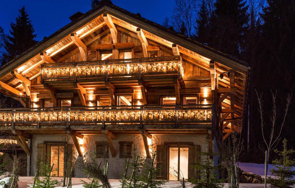 Location au ski Chalet Le White Fox - Saint Gervais - Extérieur hiver