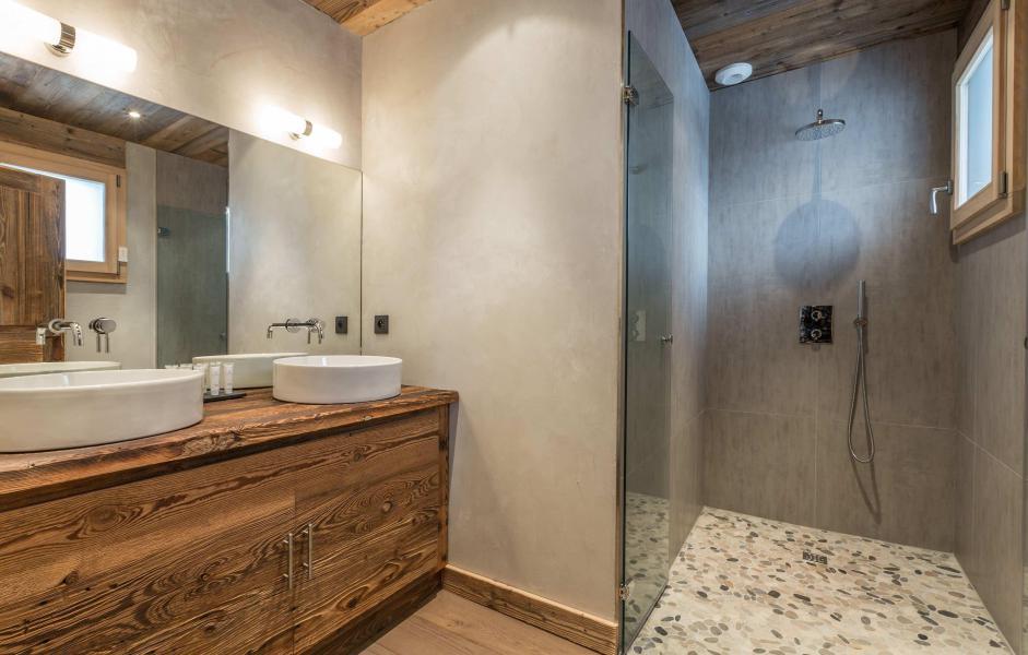 Location au ski Chalet Le White Fox - Saint Gervais - Salle de bains
