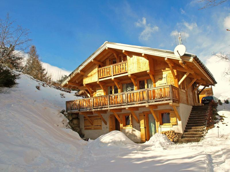 Holiday in mountain resort 5 room chalet 8 people (1) - Du Bulle - Saint Gervais - Winter outside