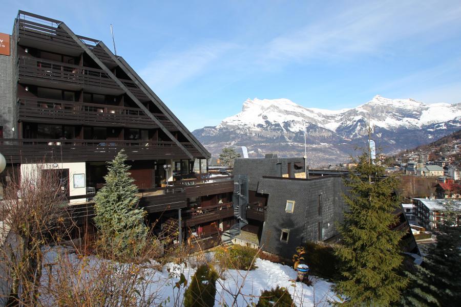 Location au ski Hôtel Club MMV Monte Bianco - Saint Gervais - Extérieur hiver