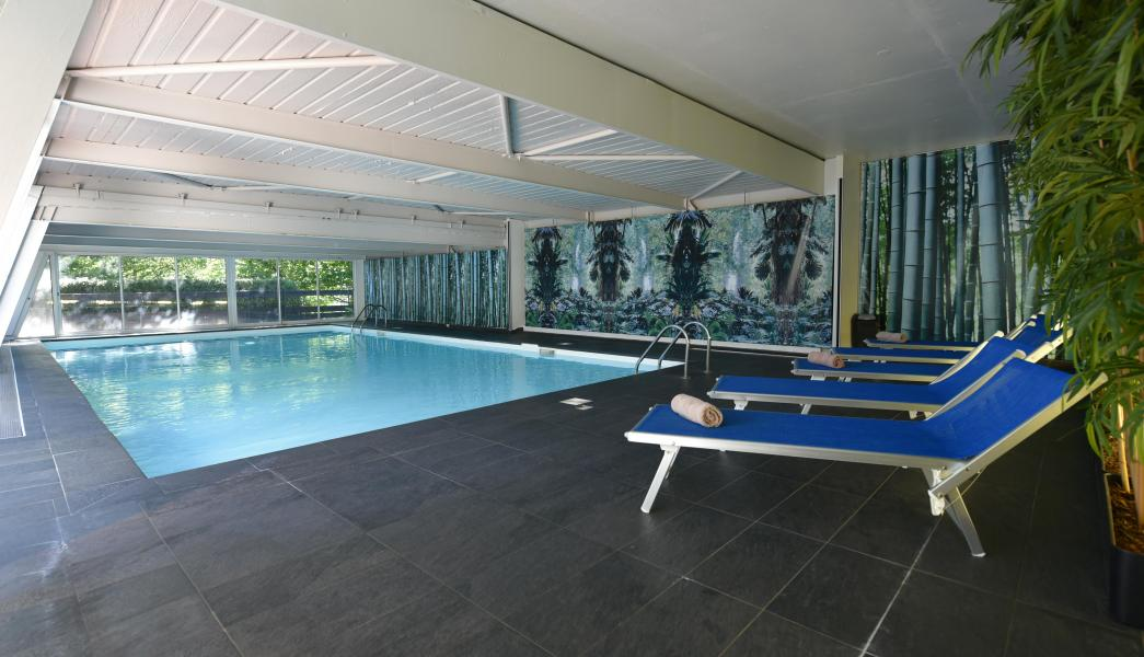 Location au ski Hôtel Club MMV Monte Bianco - Saint Gervais - Piscine