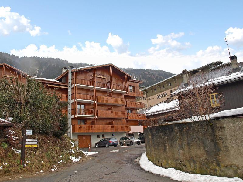 Vakantie in de bergen Appartement 2 kamers 4 personen (3) - Isabella - Saint Gervais - Buiten winter