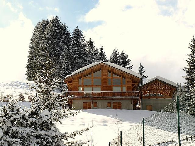 Holiday in mountain resort 7 room chalet 10 people (1) - L'Epachat - Saint Gervais - Winter outside