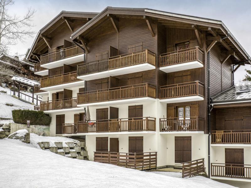 Vakantie in de bergen Appartement 2 kamers 4 personen (3) - La Résidence la Piste - Saint Gervais - Buiten winter