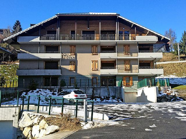 Holiday in mountain resort 3 room apartment 6 people (1) - Le Clos de la Fontaine - Saint Gervais - Winter outside