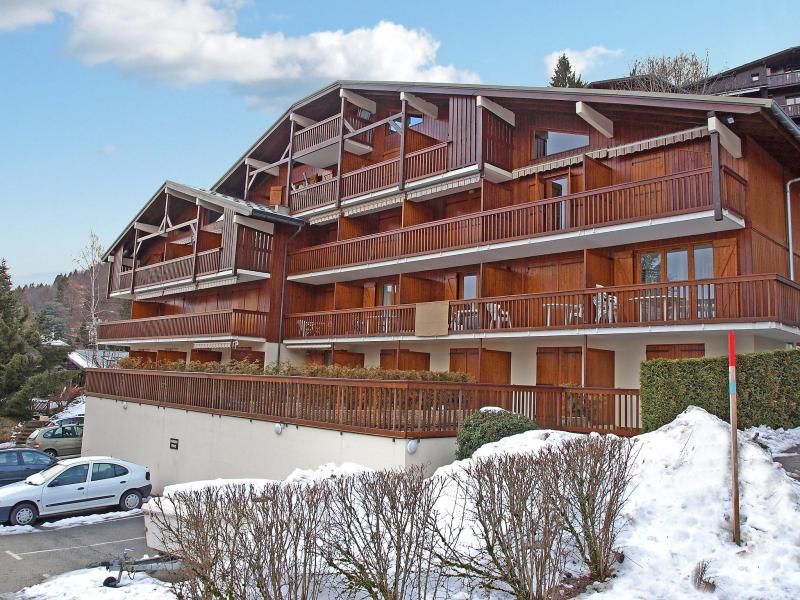 Holiday in mountain resort Le Martagon - Saint Gervais - Winter outside