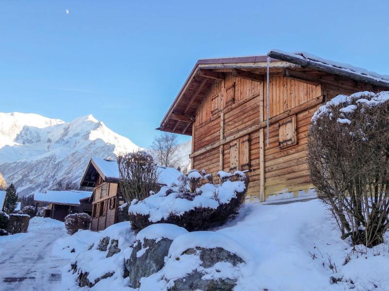 Wakacje w górach Apartament 4 pokojowy 6 osób (2) - Les Farfadets - Saint Gervais - Zima na zewnątrz