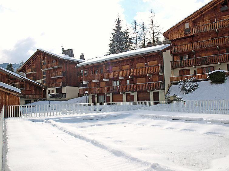 Holiday in mountain resort 1 room apartment 4 people (4) - Les Grets - Saint Gervais - Winter outside