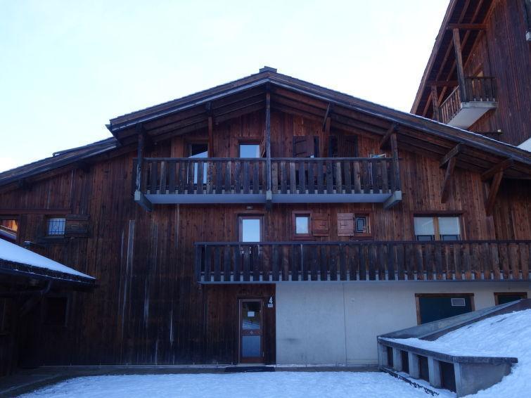 Location au ski Appartement 2 pièces 4 personnes (7) - Les Grets - Saint Gervais - Extérieur hiver