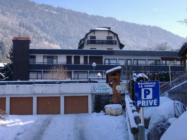 Urlaub in den Bergen Résidence la Forêt - Saint Gervais - Draußen im Winter