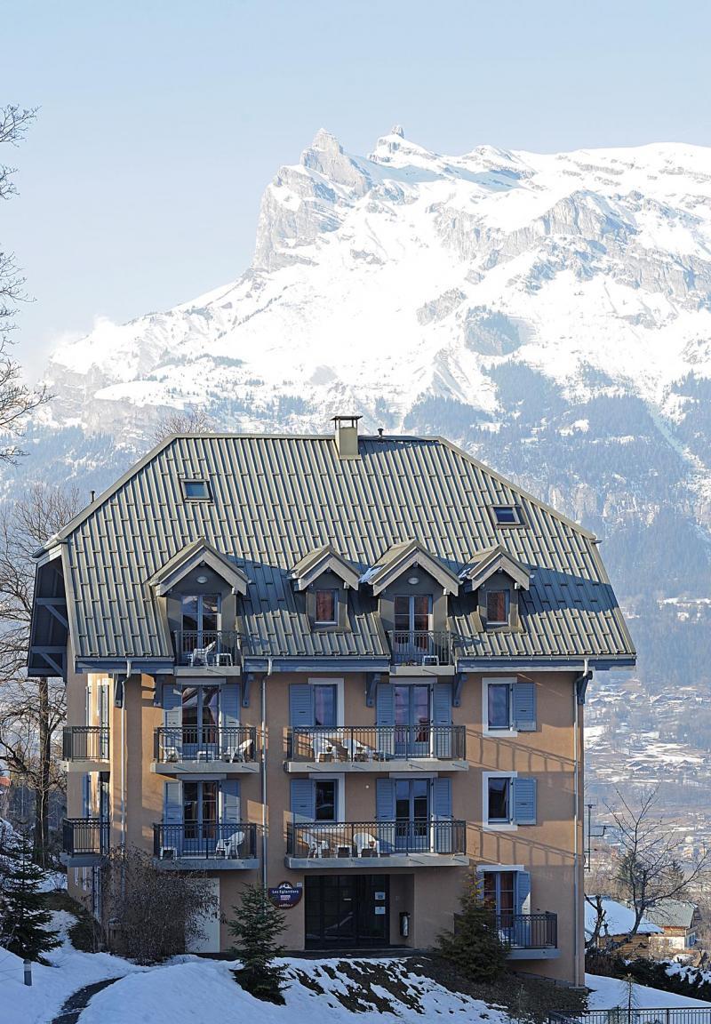 Vacances en montagne Résidence Lagrange les Arolles - Saint Gervais - Extérieur hiver