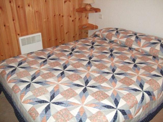 Rent in ski resort 2 room apartment sleeping corner 6 people (698) - Résidence les Jardins Alpins - Saint Gervais - Bedroom