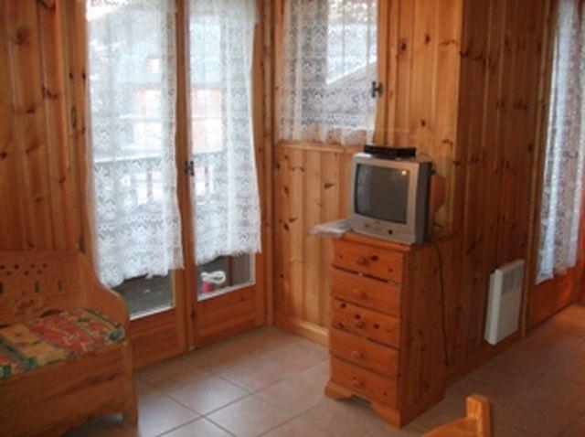 Rent in ski resort 2 room apartment sleeping corner 6 people (698) - Résidence les Jardins Alpins - Saint Gervais - TV