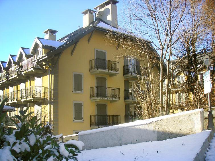 Vakantie in de bergen Résidence Saint Gervais - Saint Gervais - Buiten winter