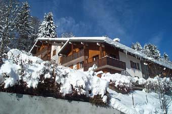 Wakacje w górach Résidence Vorrasset - Saint Gervais - Zima na zewnątrz