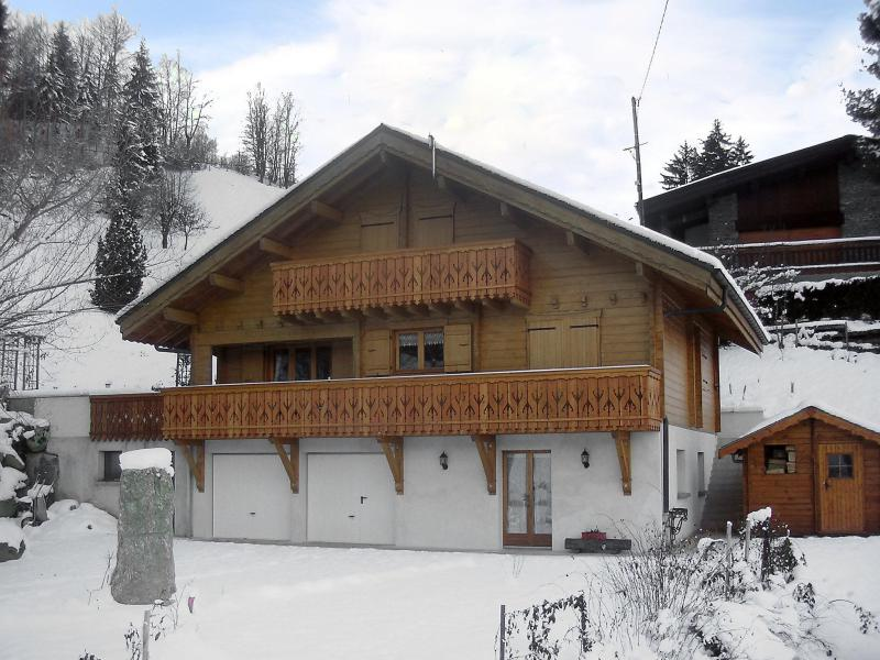 Holiday in mountain resort 2 room apartment 4 people (1) - Rubigny - Saint Gervais - Winter outside